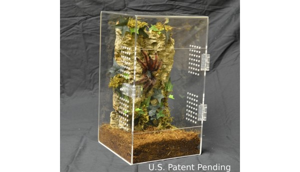Adult Tarantula Cage - Complete Arboreal - Double Hasp