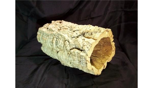 "Cork Bark Tube Large 11"" Long"