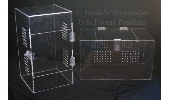 Adult Tarantula Cage  - Cage Only - Single Hasp