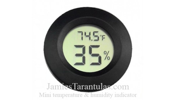 Mini temperature & humidity indicator