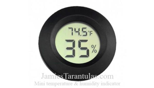 Mini temperature & humidity indicator