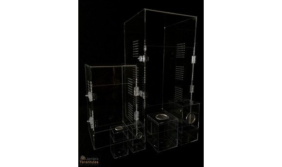 Adult Tarantula Cage - Cage Only - Double Hasp